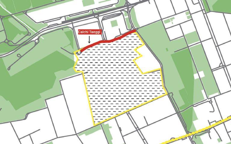 """Pubblicazione bando di gara per la realizzazione delle Opere di Urbanizzazione primaria in attuazione del """"PII Calchi Taeggi"""", Primo Lotto."""