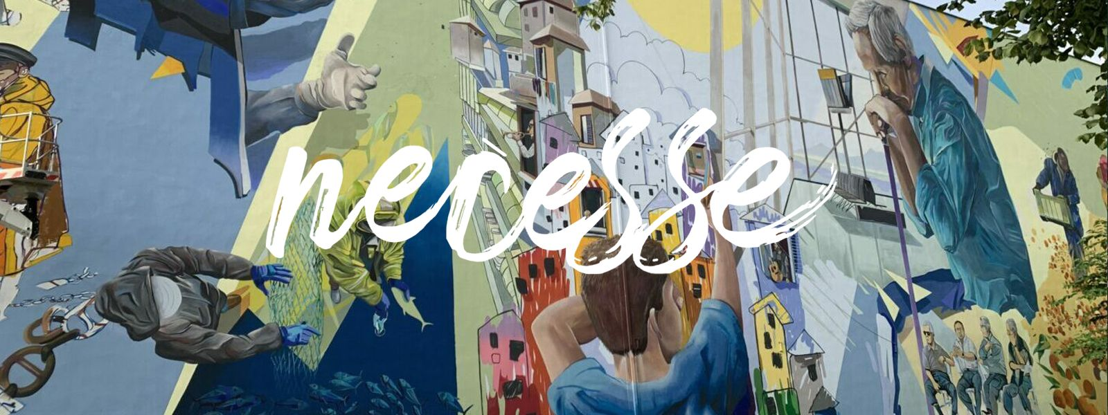 NECESSE: inaugurata la grande opera murale