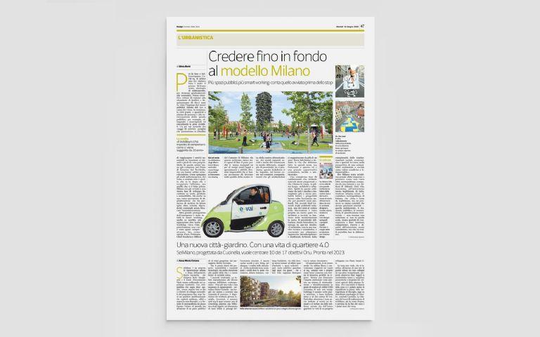 SeiMilano, una nuova città giardino con una vita di quartiere 4.0
