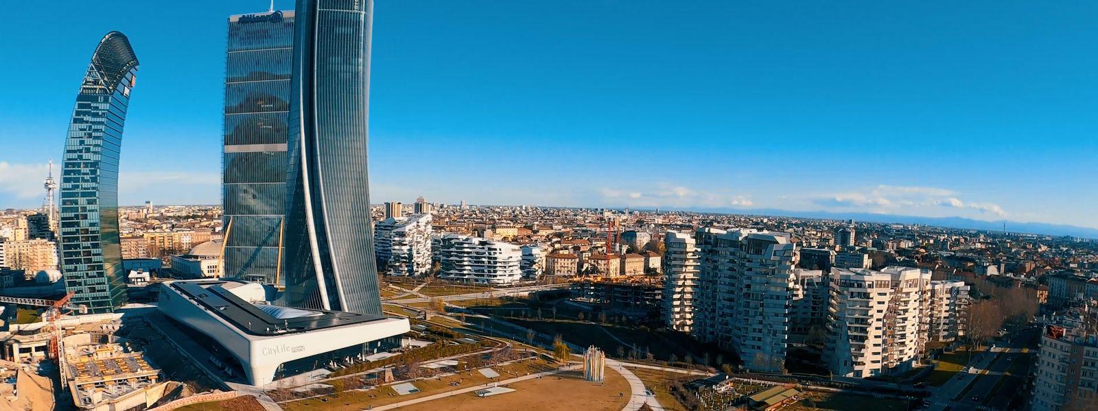 Torre Aurora: Milano a 360°